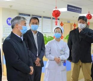 宁波市医保局党组书记、局长郑进达率队到我院调研参观长期照护保险工作